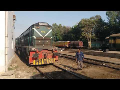 Pakistan railway Karakoram express coupling..