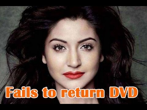 Anushka Sharma fails to return DVD - TOI