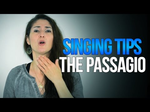 Freya's Singing Tips: Dealing With The PASSAGGIO (Register Transitions)