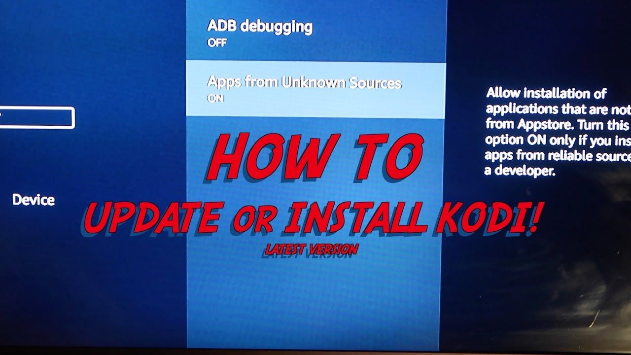 how to download latest version of kodi