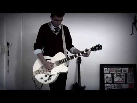 Black Cat The Living End guitar cover