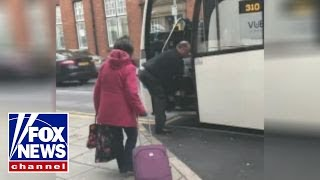 National Express driver drags passenger off bus