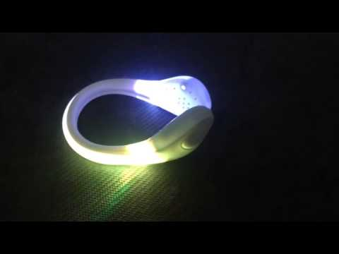 Supply High Quality Lighting RGB LED Shoe Clip For Safty Light