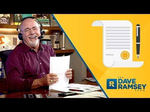 Dave Ramsey Reads An Article From 1926 On Marriage Advice