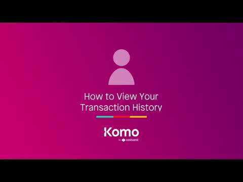How to View Your Transaction History