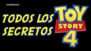 TOY STORY 4, TODOS LOS SECRETOS QUE TE HARAN  VOLVER A VERLA