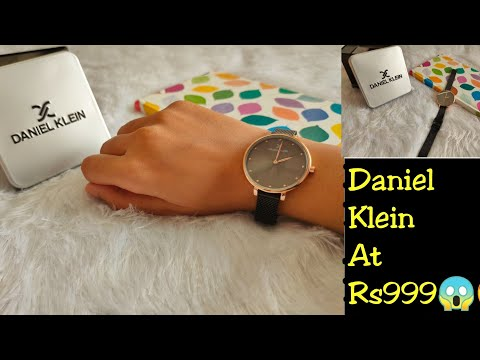 Daniel Klein Watch || I Bought Rs 3750 At Rs 999😱😍 ||Myntra || SSReviews