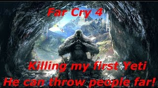 Far Cry 4 - Killing my first Yeti - PC gameplay with GTX 980/I5 4670k, Ultra settings