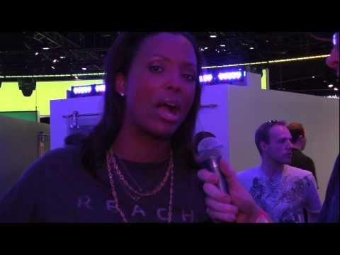 Halo Waypoint E3 2010 interview with Aisha Tyler