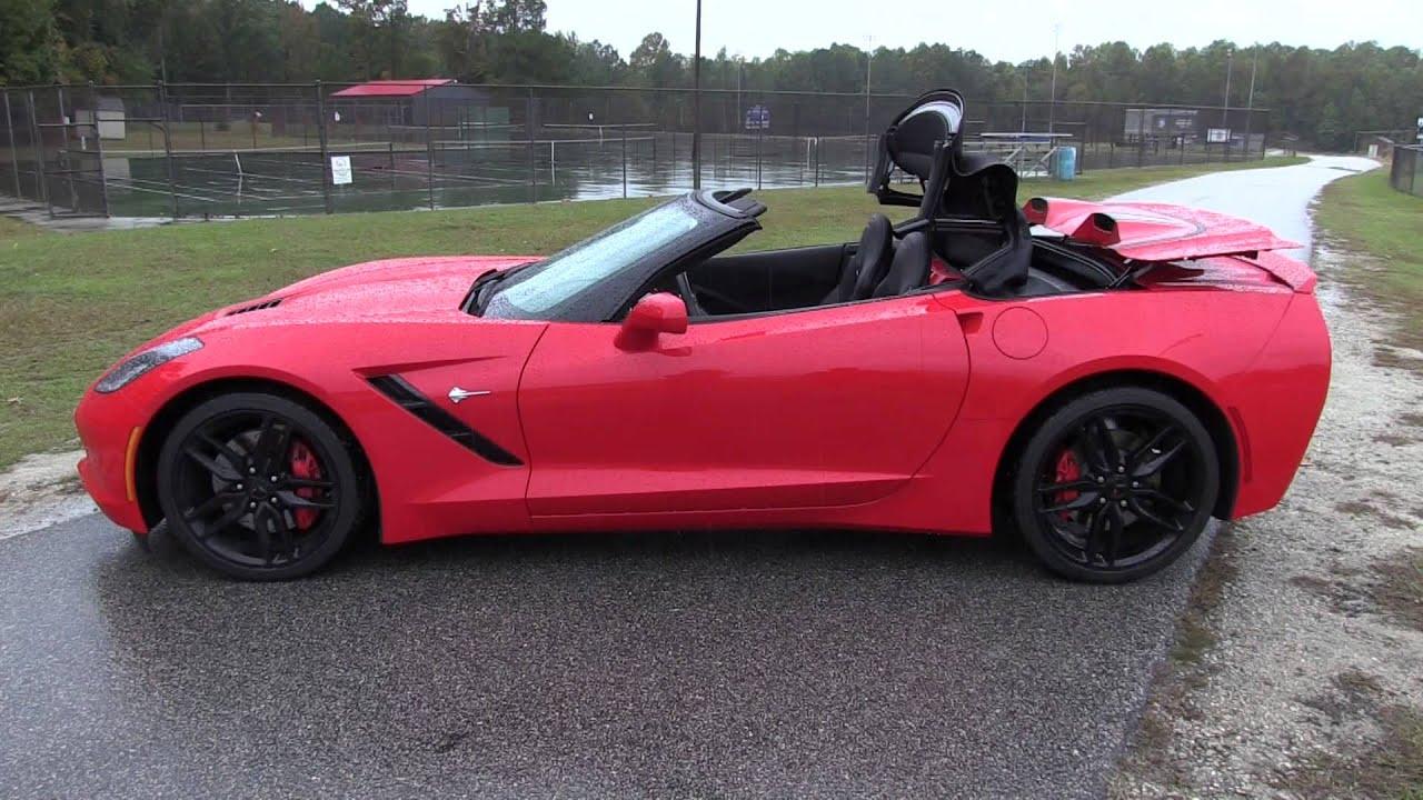 2016 Chevy Corvette Stingray Convertible