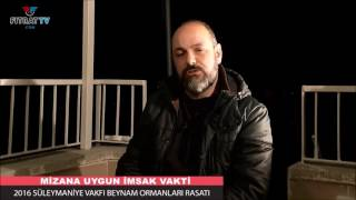 Ankara'da İmsak Vakti ama Ufukta Fecr-i Sadık Yok