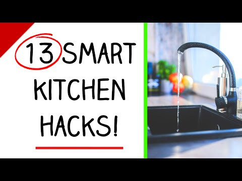 13 Amazing Kitchen Organization Ideas! (Cheap and Easy)