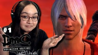 "THE ""REAL"" DANTE - Let's Play: DmC: Devil May Cry Definitive Edition PS4 Gameplay Walkthrough Part 1"