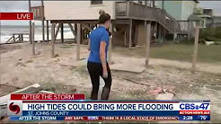 Hurricane Irma: Beach homes damaged along A1A in South Ponte Vedra