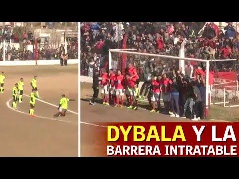 Dybala tiene calidad para aburrir: mete un gol de falta contra esta barrera   Diario AS