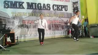 DANCE PERPISAHAN SMK MIGAS CEPU