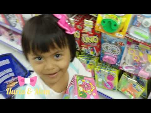 Toy Hunt & Grocery @Hypermart (Barbie Card & Barbie Ballet Doll)| Sub: English - Indonesia