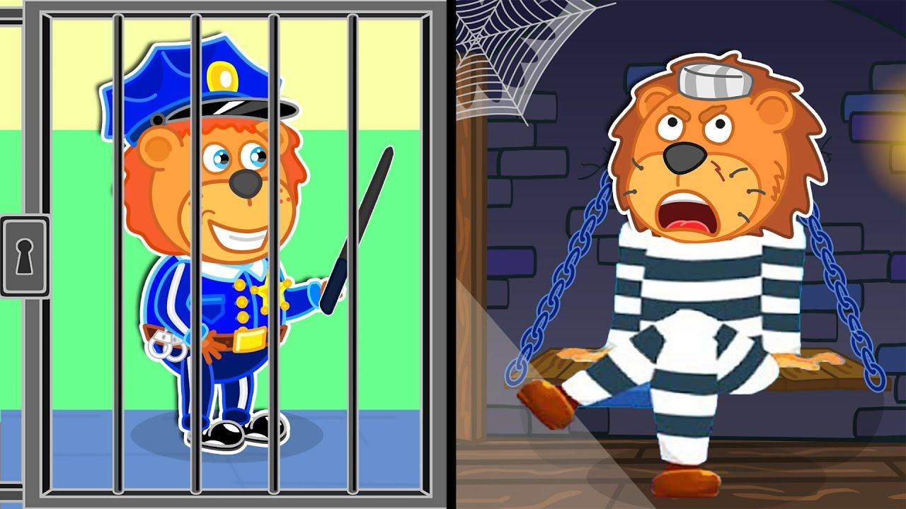 Lion Family | Break the rules. Learn Good Habits | Cartoon for Kids