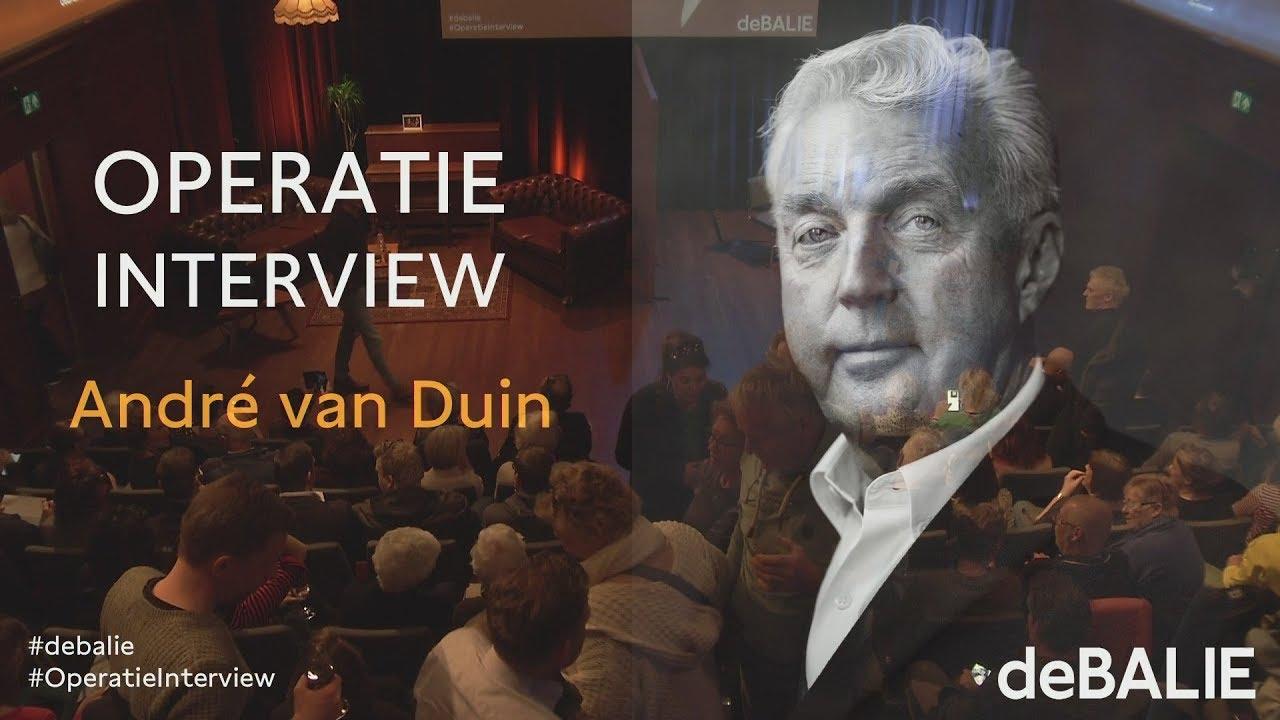 Operatie Interview André Van Duin Youtube