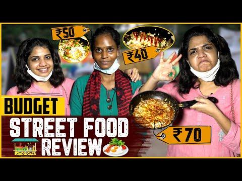 Budget Street Food Review 🍳😋| Chennai Street Food 🥙👌| Raghavi Vlogs
