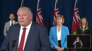Premier Ford provides a COVID-19 update | June 3