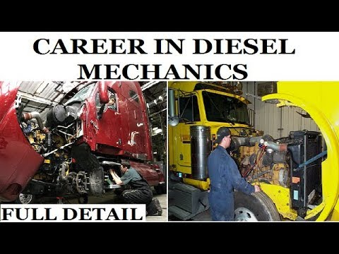 Career in Diesel Mechanic | Diesel Mechanic Course (Full Detail)