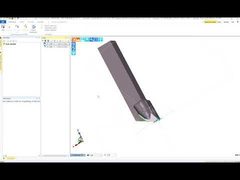 Tworzenie narzędzia tokarskiego z użyciem własnej grafiki CAD