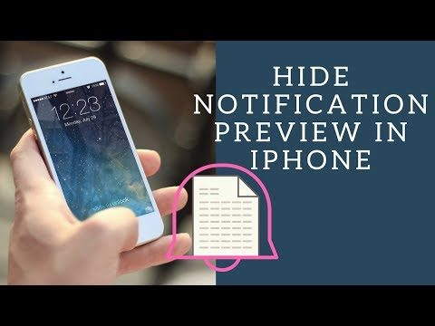 iOS11: Hide Alerts in Messages from YouTube · Duration:  56 seconds