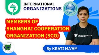 7-Minute GK Tricks | Members of Shanghai Cooperation Organization (SCO) | By Krati Ma'am
