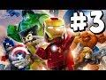 LEGO Marvel Superheroes - Part 3 - Xbox One HD Gameplay Walkthrough