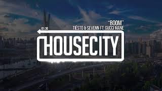 "Tiësto & Sevenn – ""BOOM"" ft. Gucci Mane"