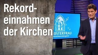 Rekordeinnahmen der Kirchen in Deutschland