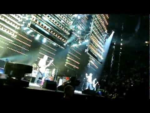 Red Hot Chilly Peppers Montreal May 2, 2012