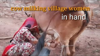 Cow Milking || Village Life Vlog