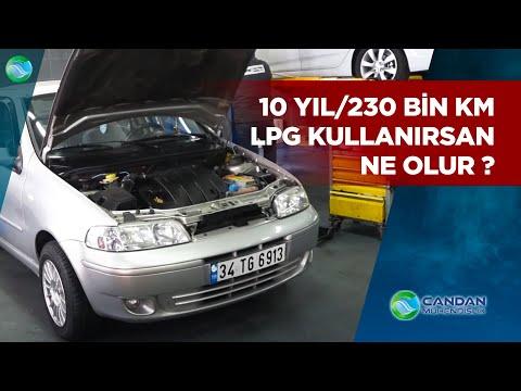 10 Yıl/230 Bin km LPG Kullanan Fıat Albea'da Son Durum ?