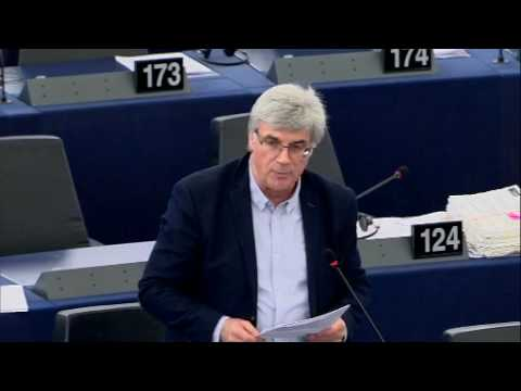 Intervention de Patrick Le Hyaric au Parlement européen sur le CETA