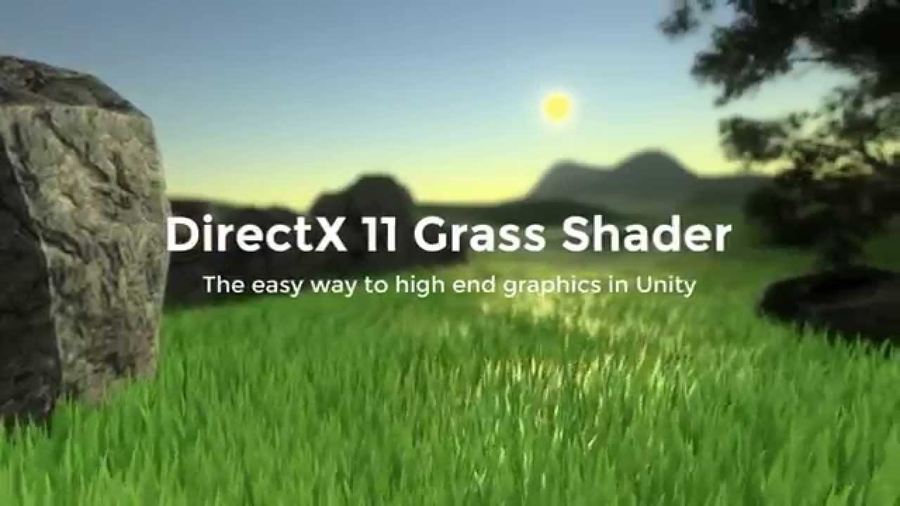 how to make grass unity