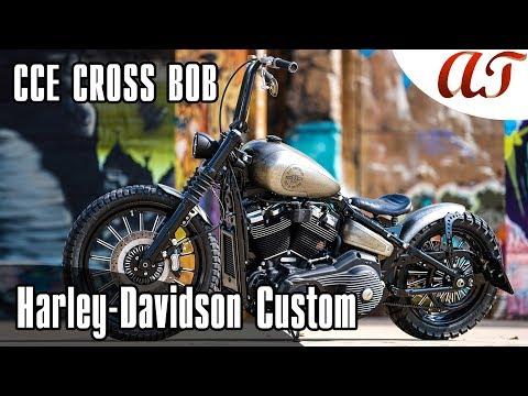 Harley-Davidson STREET BOB Custom: CCE CROSS BOB * A&T Design