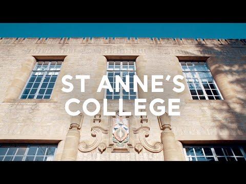 St Anne's College: A Tour