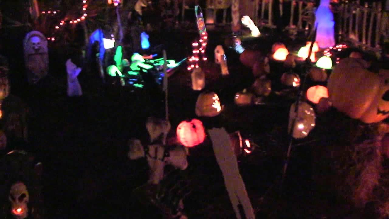 Disney's Fort Wilderness Halloween Campsite Decorations ...