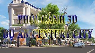 PHỐI CẢNH 3D DỰ ÁN CENTURY CITY - KIM OANH GROUP TẠI LONG THÀNH, ĐỒNG NAI.