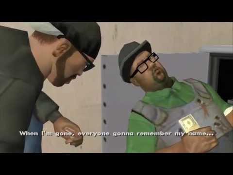 GTA San Andreas - Big Smoke Story (All Cutscenes)