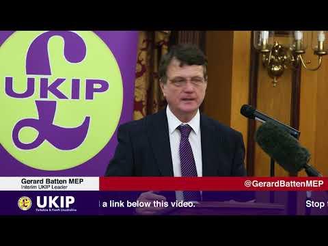 Gerard Batten in Hull