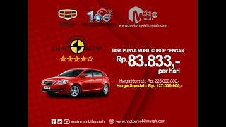 Spesifikasi Review Mobil Geely Emgrand 1.800 cc