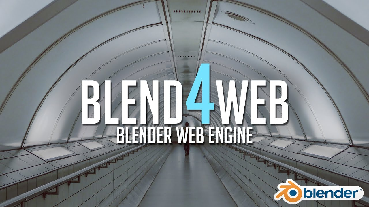 Intro to blend4web a realtime blender web engine youtube for Rendering online free