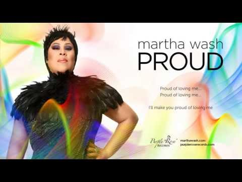 Martha Wash - Proud (Lyric Video)