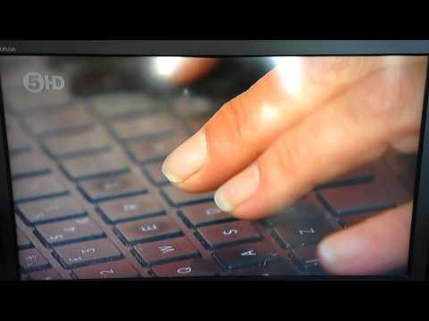 Channel 5 News: More award winning fake typing.