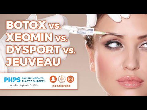 Botox vs Xeomin vs Dysport vs Jeuveau [video] | BuildMyBod