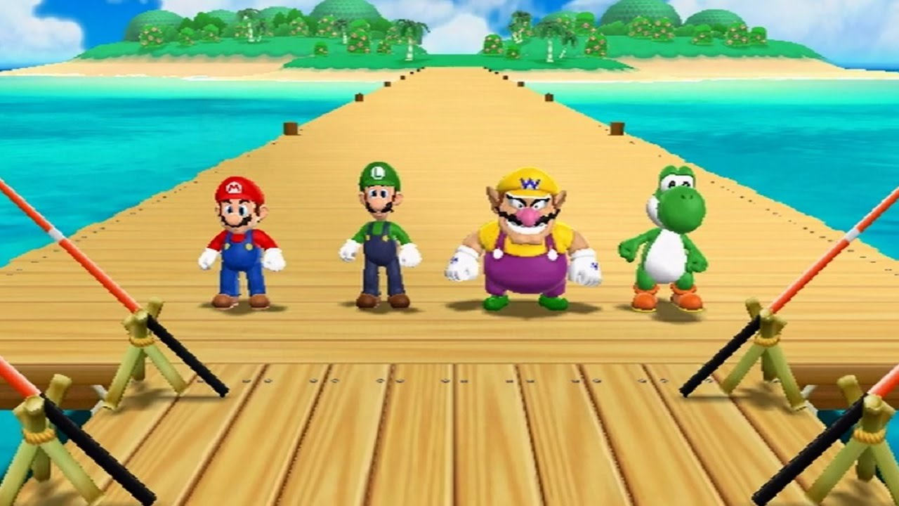 Mario Party 9 - All Mini Games #1
