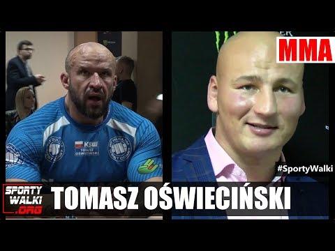 Tomasz Oświeciński do Szpilki: Przygotuję się i zrobię to samo co z Popkiem